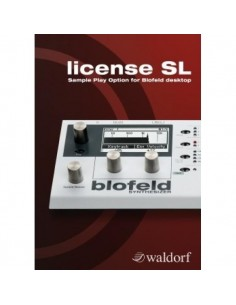 Waldorf BLOFELD LICENSE SAMPLE UPGRADE