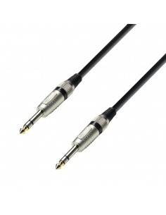 Adam Hall Audio Cable 6.3 mm Jack stereo to 6.3 mm Jack stereo 3 m