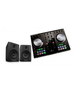 Native Instruments Traktor Kontrol S2 + M-Audio Bx5