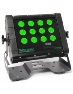 BeamZ Professional WH-128 Wall Washer 12x 8W Quad LEDs IP65 + 5m cable