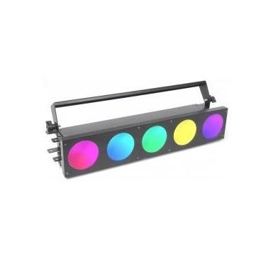 BeamZ MadMax 5x 10W COB LEDs Matricial