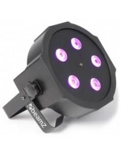 BeamZ FlatPAR 5x 8W Quad LEDs DMX