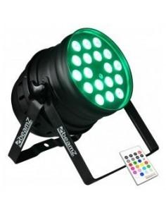 BeamZ Foco LED PAR 64 18x10W Alu Quad IR DMX