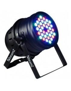 BeamZ PAR 64 Foco 36x 1W RGB LEDs DMX