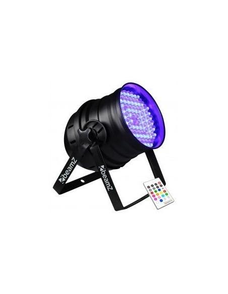 BeamZ PAR 64 Foco 176x10mm RGB LEDs IR DMX