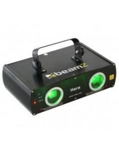 BeamZ Hera Dual Laser Verde 80mW DMX