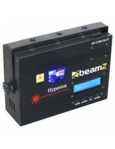 BeamZ Hyperion Laser de Animacion Azul DMX SD