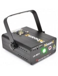 BeamZ LS-RG11 Laser Rojo-Verde Gobo DMX