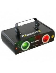 BeamZ Methone Laser 3D Rojo Verde DMX