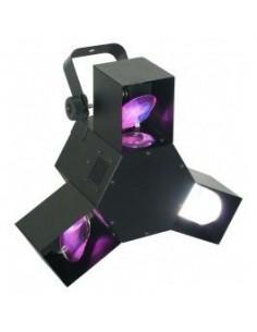 BeamZ Centro Triple Flex Pro LED DMX