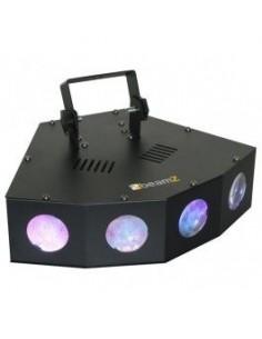 BeamZ Mini LED 4 Salidas Moon
