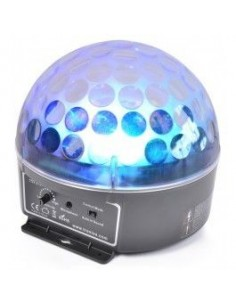 BeamZ Magic Jelly DJ Ball activado por la musica LED