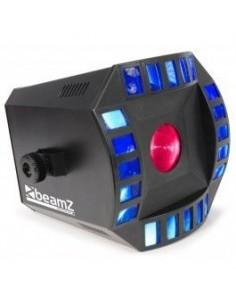BeamZ Professional Cubo4 2x 10W Quad LED + 64 RGB LEDs DMX