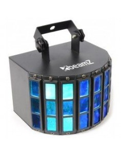 BeamZ Butterfly 3x3W RGB LEDs 24 Rayos