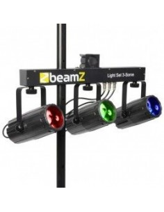 BeamZ 3-Some Conjunto 3x57 RGBW LEDs