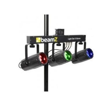BeamZ 3-Some Conjunto 3x57 RGBW LEDs