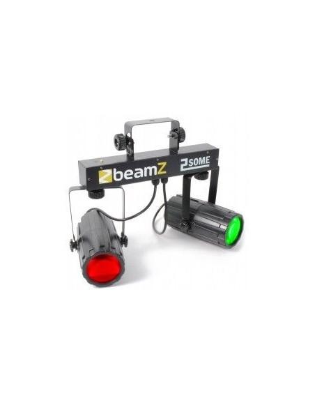 BeamZ 2-Some Conjunto 2x57 RGBW LEDs