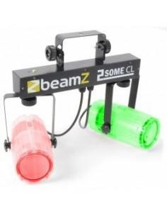 BeamZ 2-Some Conjunto 2x57 RGBW LEDs Transparente