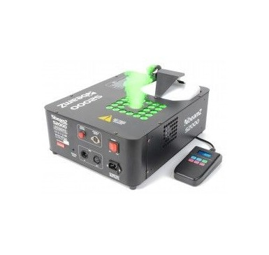 BeamZ S2000 Maquina de Humo con Efecto 24x3W Tri-color LEDs DMX