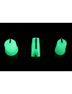 Chroma Caps DJ TechTools Super Knob 90º Glow In The Dark