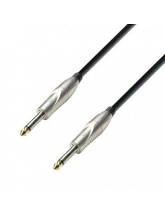 Adam Hall Cables K3 IPP 0900 - Instrument Cable 6.3 mm Jack mono to 6.3 mm Jack mono 9 m