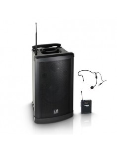 LD SYSTEMS Roadman 102 HS Altavoz de PA portátil con Micro de Diadema o micro de mano