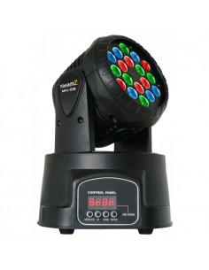 BeamZ Cabeza movil MHL108 Wash 18x 3W RGB 11 canales DMX