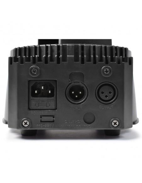 BeamZ MHL74 Mini Cabeza Movil Wash 7X 10W DMX 12 Canales Quad LED