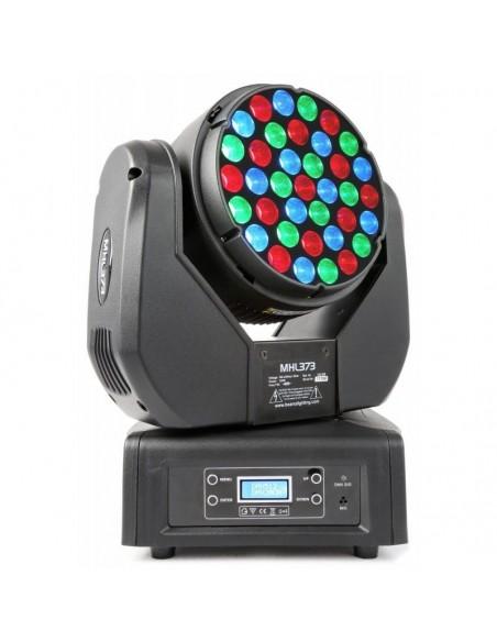 BeamZ Professional MHL373 Cabeza Movil LED 37x 3W RGB 14 Canales DMX