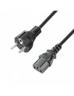 Adam Hall Cables 8101KA0100 - Cable eléctrico CEE 7/7 - C13 1 m