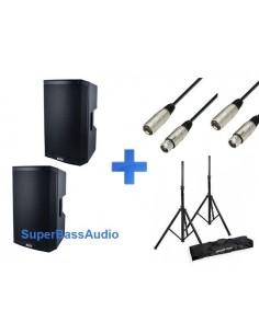 Alto TS 215 + cables + soportes