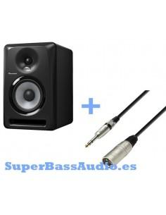 Pioneer S-DJ50X + CABLE XLR MACHO A JACK STEREO 3 M