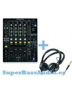 PIONEER DJM-900NXS2 + SENNHEISER HD 25