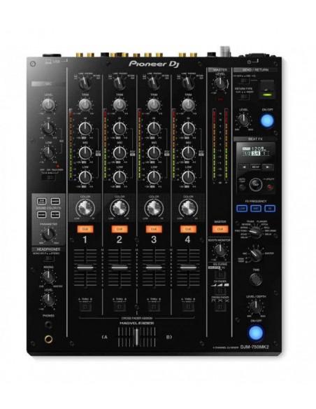 "PIONEER DJM-750 MK2 + DECKSAVER 12"" MIXER"