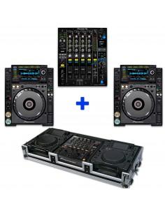 PIONEER DJM-900NXS2 + 2 CDJ-2000NXS2 + WALKASSE WMCD-12GL2000II