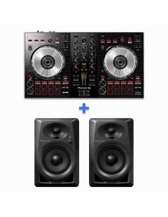Pioneer DJ DDJ-SB3 + PIONEER DJ DM-40