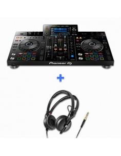 PIONEER DJ XDJ-RX2 + SENNHEISER HD 25