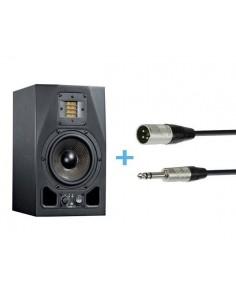 ADAM A5X + Cables XLR Macho a Jack Stereo 3m