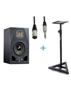 ADAM A5X + Cable XLR Macho a Jack Stereo 3m + Soporte ADAM HALL SKDB039
