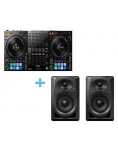 PIONEER DJ DDJ-1000 + 2 x PIONEER DJ DM-40