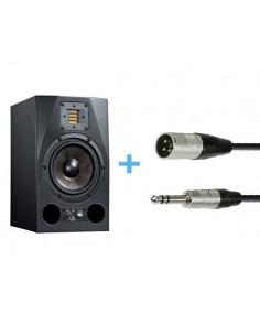 ADAM A7X + Cable XLR Macho a Jack Stereo 3m