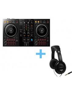PIONEER DJ DDJ-400 + NUMARK HF-125