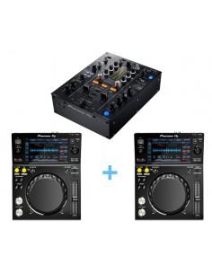 Pioneer DJM-450 + 2x Pioneer XDJ 700