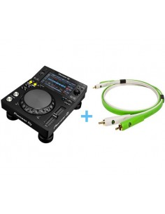 PIONEER XDJ-700 + NEO CABLE D+ RCA CLASS B / 2.0M
