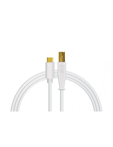 DJ Techtools Chroma cable USB-C Blanco