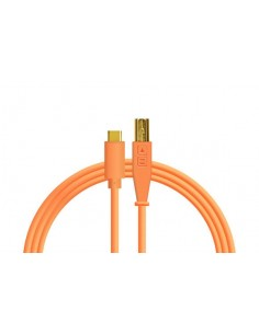 DJ Techtools Chroma cable USB-C Naranja