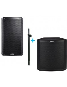 ALTO TS 315 + ALTO TS218S + ADAM HALL STANDS SPS821