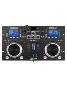 VONYX CDJ500 DOBLE REPRODUCTOR CON AMPLIFICADOR CD/MP3/USB/BLUETOOTH