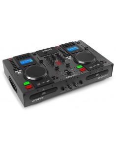 VONYX CDJ450 DOBLE REPRODUCTOR MEZCLADOR SOBREMESA CD/MP3/USB CON BLUETOOTH