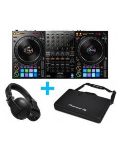 Pioneer DJ DDJ-1000 + PIONEER DJ DJC-1X BAG + PIONEER DJ HDJ-X5 NEGRO